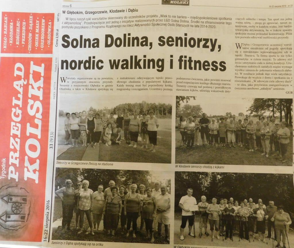 Solna w prasie